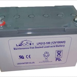GEL Batteri 12V Leoch
