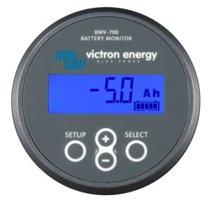 Victron batterimonitor BMV700 övervakning