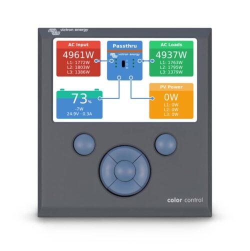 Victron color control GX monitor