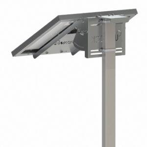 solpanelsfäste för antenn stolpe mast