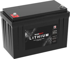 Lithium Bluetooth 100Ah batteri