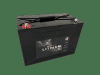 Lithium 100Ah batteri