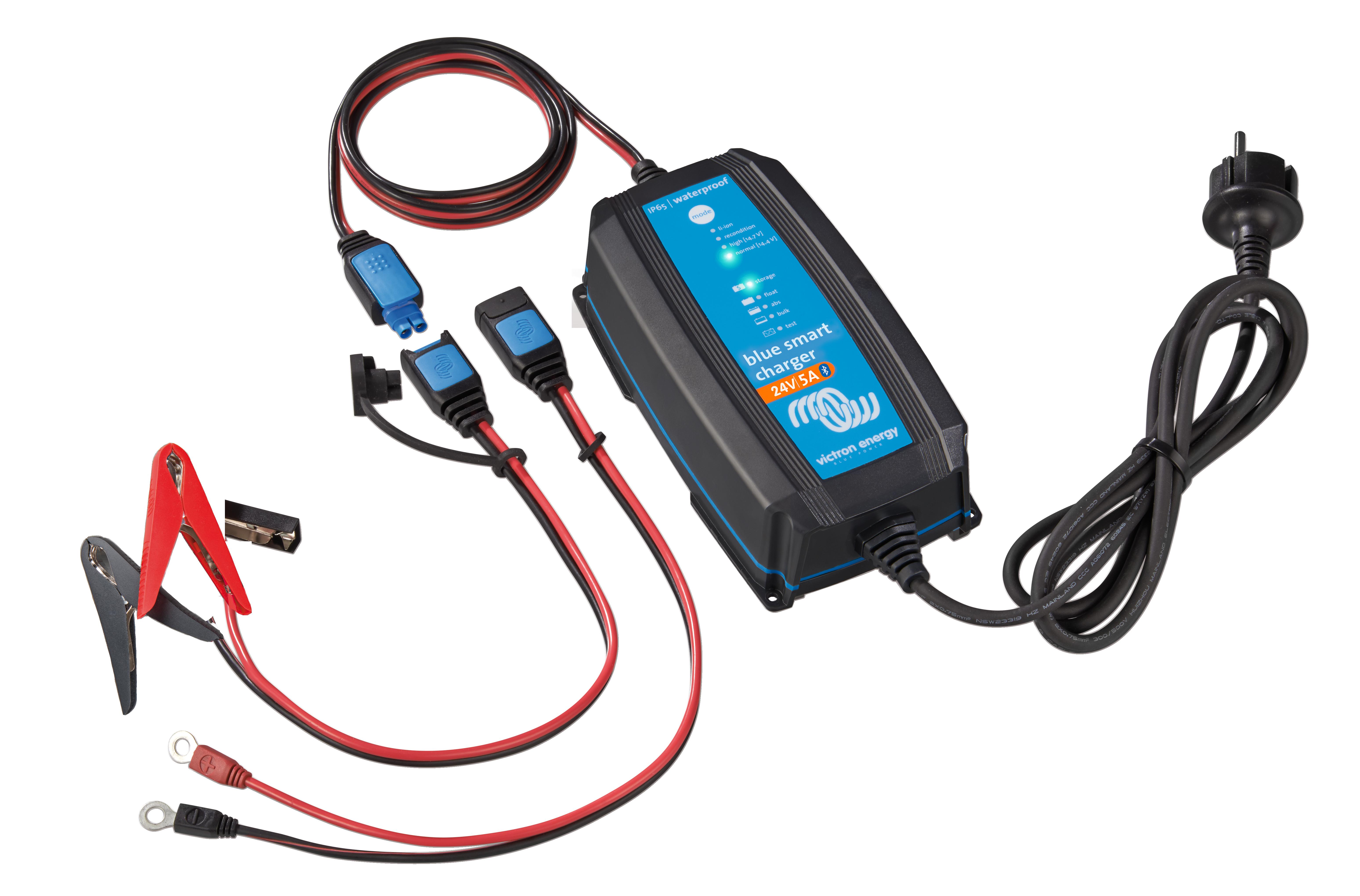Victron Blue Smart IP65 batteriladdare